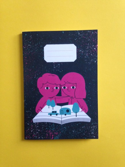 A5 Notebook – cover design by Ben Javens