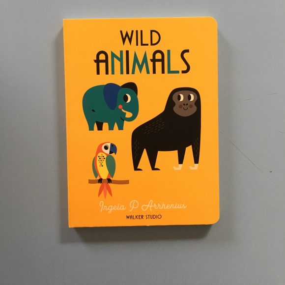 Wild Animals – Board Book