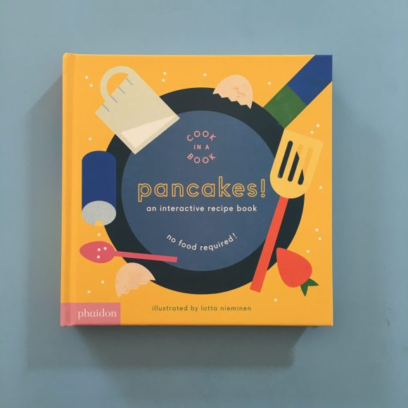 Cook in a Book: Pancakes – interactive board book