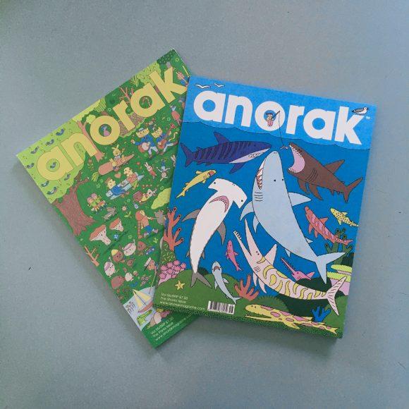 Anorak Magazine – Sharks – vol 56