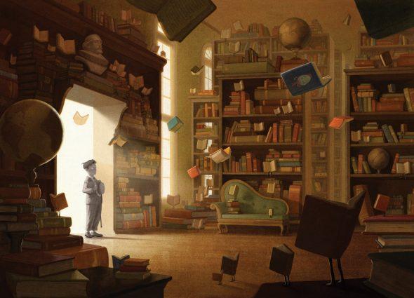 Morris Lessmore Library
